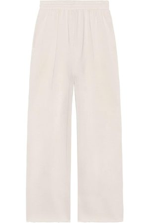Balenciaga Sweatpants - Cropped cotton track pants - Grey
