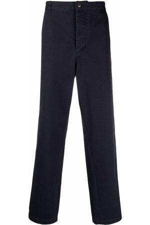 Acne Studios Straight Leg Pants - Workwear organic cotton trousers