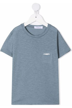 OPILILAI Ripped short-sleeved T-shirt