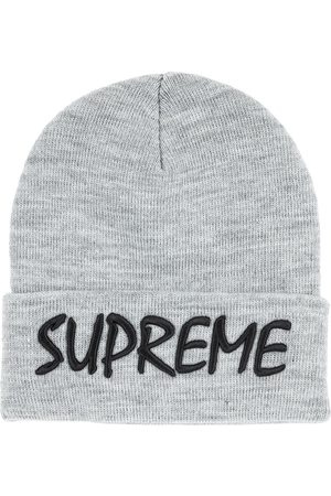 Supreme FTP knitted beanie hat - Grey