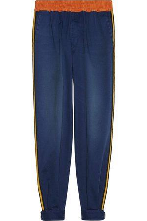 Gucci Men Sweatpants - Side-stripe track pants