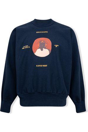 Kanye West Men Sweatshirts - Jesus is King crewneck sweatshirt
