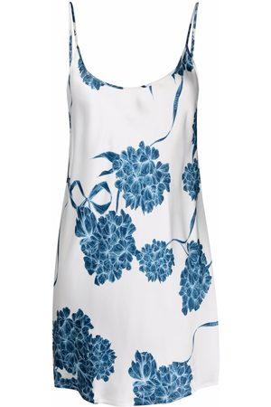 La Perla Floral silk night dress