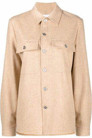 Jil Sander Button-down shirt jacket - Neutrals