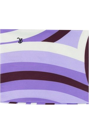 Raf Simons Striped snood scarf