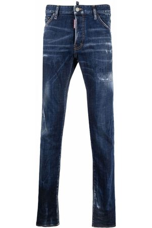 Dsquared2 Mid-rise slim-fit jeans