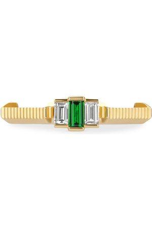 Gucci 18kt yellow Link to Love tourmaline diamond ring