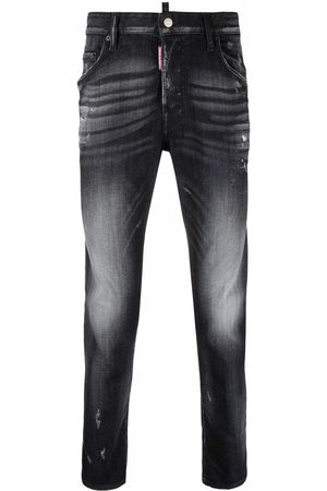 Dsquared2 Skater distressed-effect slim jeans