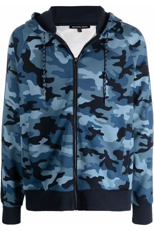Michael Kors Camouflage-print zip-up hoodie