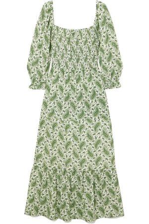FAITHFULL THE BRAND Women Printed Dresses - NET SUSTAIN Le Galet paisley-print crepe midi dress