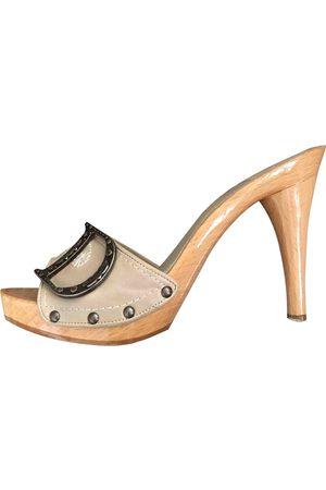 Dior Leather Mules & Clogs