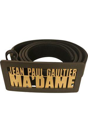 Jean Paul Gaultier Leather Belts