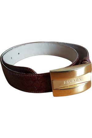Escada Leather Belts