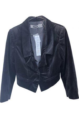 STRADIVARIUS Women Gilets - Velvet short vest