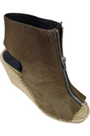 Céline Pony-style calfskin Ankle Boots