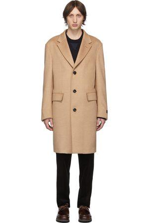 Ermenegildo Zegna Beige Cashmere & Silk Coat