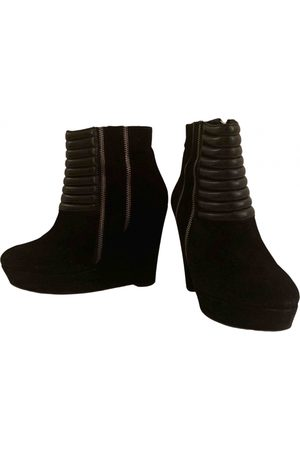 The Kooples Suede Ankle Boots