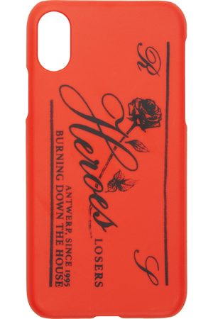 RAF SIMONS Red 'Heroes' iPhone X Case