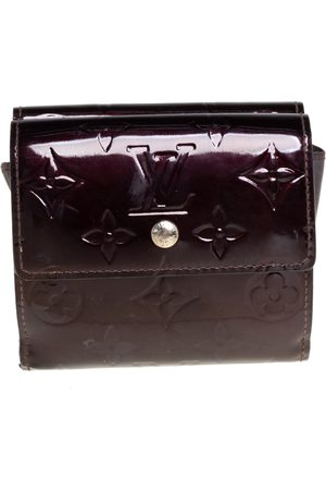 Louis Vuitton Amarante Monogram Vernis Elise Wallet