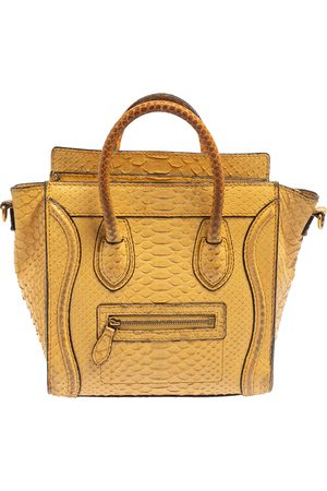Céline Women Purses - Python Nano Luggage Tote