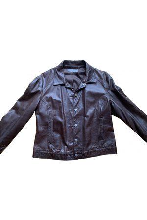 Farhi by Nicole Farhi Leather biker jacket