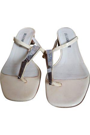 Jil Sander Patent leather Sandals