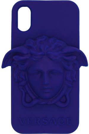 VERSACE Blue Medusa iPhone X Case
