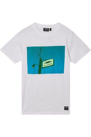 WeSC Men's Max Self Parking T-Shirt - - Size Medium