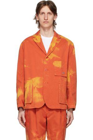 Etudes Orange Bleached Jacket