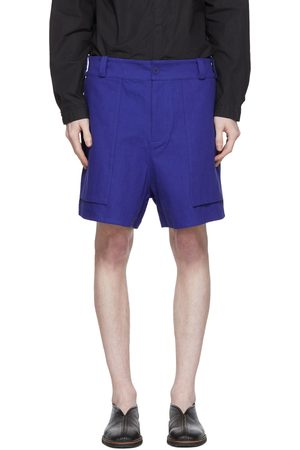 TOOGOOD Blue 'The Machinist' Shorts