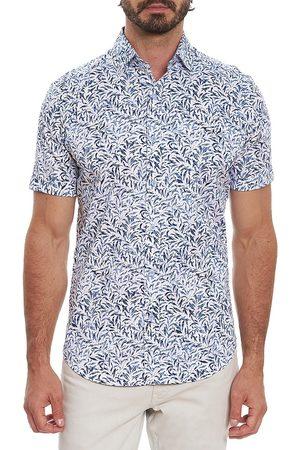 Robert Graham Men's Avery Short-Sleeve Sport Shirt - - Size Small