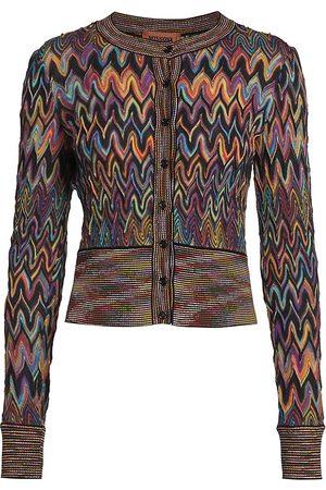 Missoni Women's Chevron Cardigan - Size 10