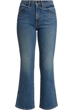 Khaite Women's Vivian Bootcut Flare Jeans - Vintage - Size 25