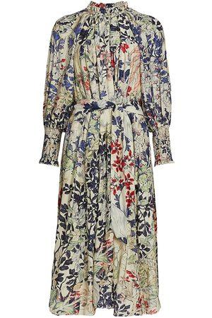 CHUFY Women's Memories Of Romania Crina Maxi Dress - Emil - Size Small