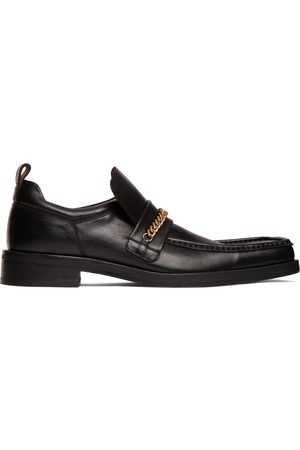 MARTINE ROSE Square Toe Boot Loafers