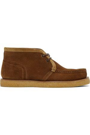 Dolce & Gabbana Brown Suede Desert Boots
