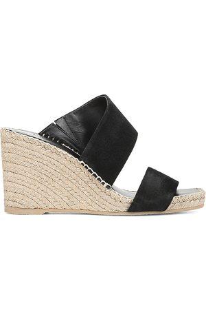 Vince Women's Garlin Suede Espadrille Wedge Sandals - - Size 9.5