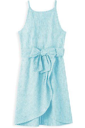 HABITUAL Girl's Striped Tank Dress - Light - Size 12