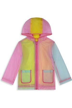 Andy & Evan Little Girl's Translucent Rain Jacket - Bright - Size 6