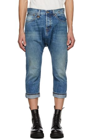 R13 Blue Jonah Drop Jeans