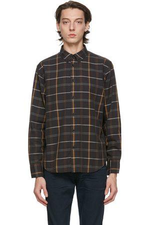 RAG&BONE Black Fit 2 Tomlin Shirt