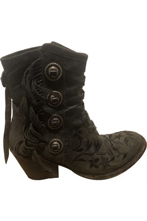 Mexicana Suede Ankle Boots
