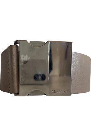 Max Mara Leather Belts