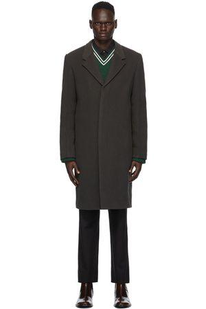 Maison Margiela Grey Wool Coat