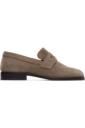 Maison Margiela Grey Tabi Advocate Loafers