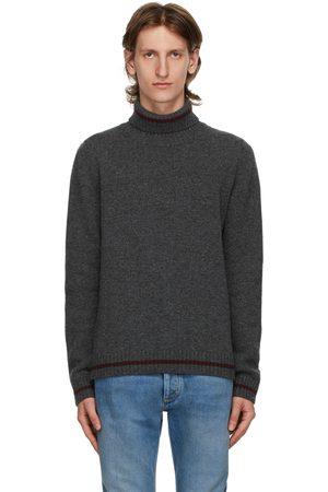 Maison Margiela Grey Wool Gauge 5 Turtleneck