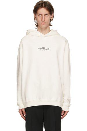 Maison Margiela Off-White Logo Hoodie