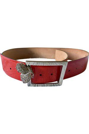 VALENTINO GARAVANI Patent leather Belts