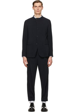 Armani Navy Pinstripe Suit