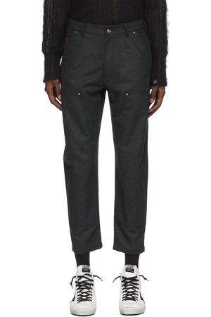 Golden Goose Grey Archimede Trousers